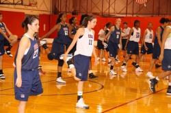 USA Basketball. 2012 Women's Final Four.